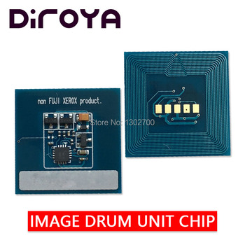 10SET K C M Y 013R00663 013R00664 Image Unit chip for xerox Color C60 C70 550 560 570 laser printer drum cartridge reset count
