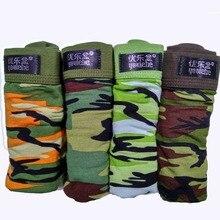 Camouflage printed Boxer Shorts male panties Breathable Comfortable Letter Underwear For Men Cheap Boxer Shorts 4pcs/lot