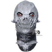 New 2016 Scary Latex Costume Full Head Mask ET Halloween Cosplay Party Male Female 16 9