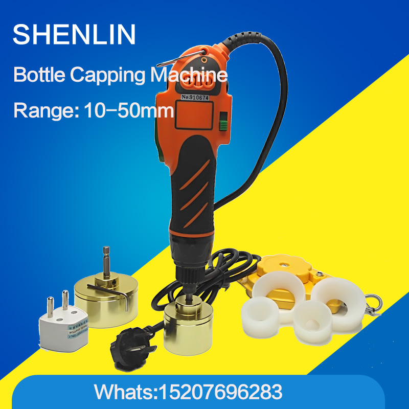 Hand held bottle capping tool plastic bottle capping machine 10-50mm cap screw capping machine, 64kg/fcm, manual capper 2016 manual plastic bottle capping sealing machine handheld cap screwing machine 10 50mm free ship