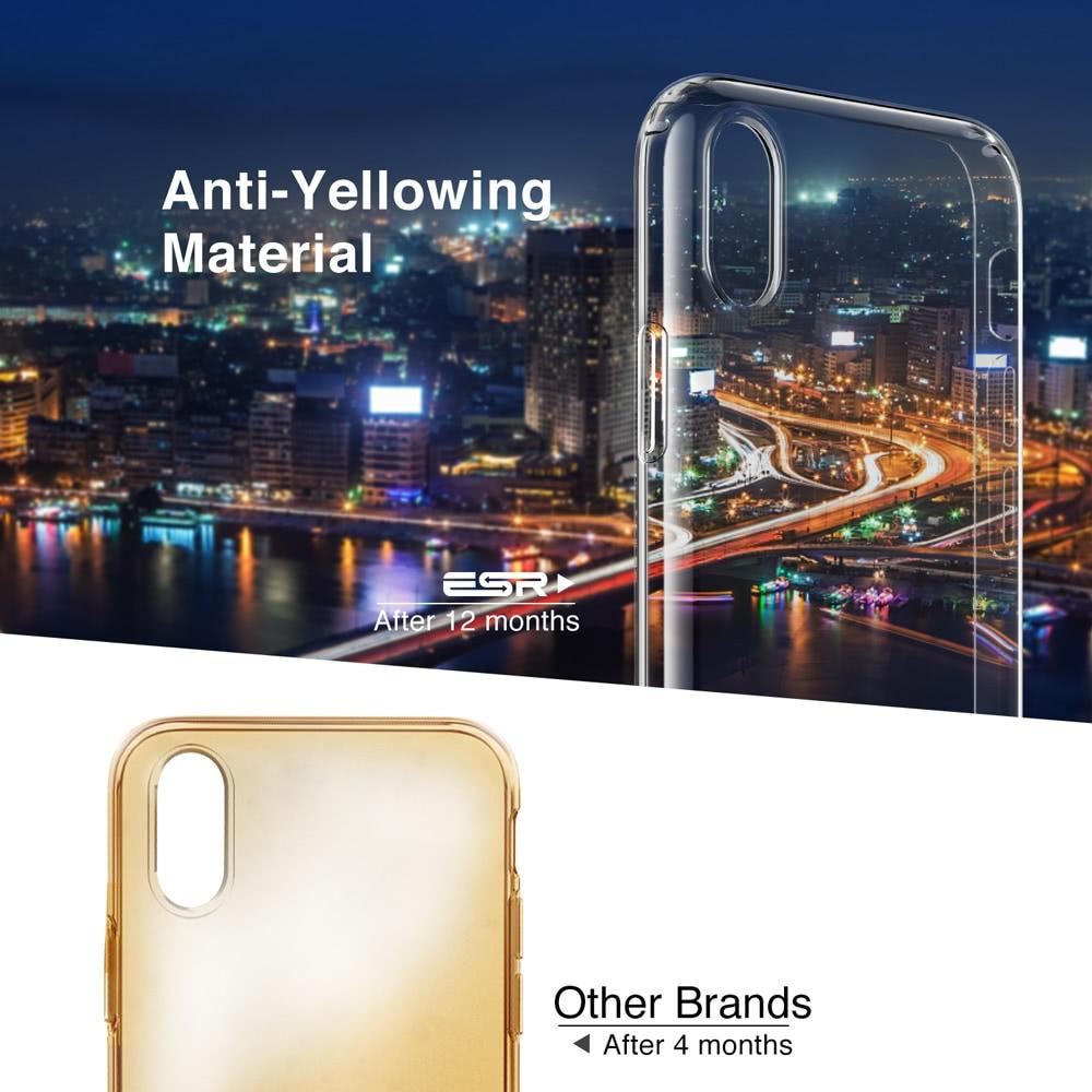 Esr Case For Iphone Xs Xr Xs Max Transparent Cover Bumper Clear Soft Tpu Case Ultra Thin Cover Anti-knock Coque Case For Iphone Phone Bags & Cases