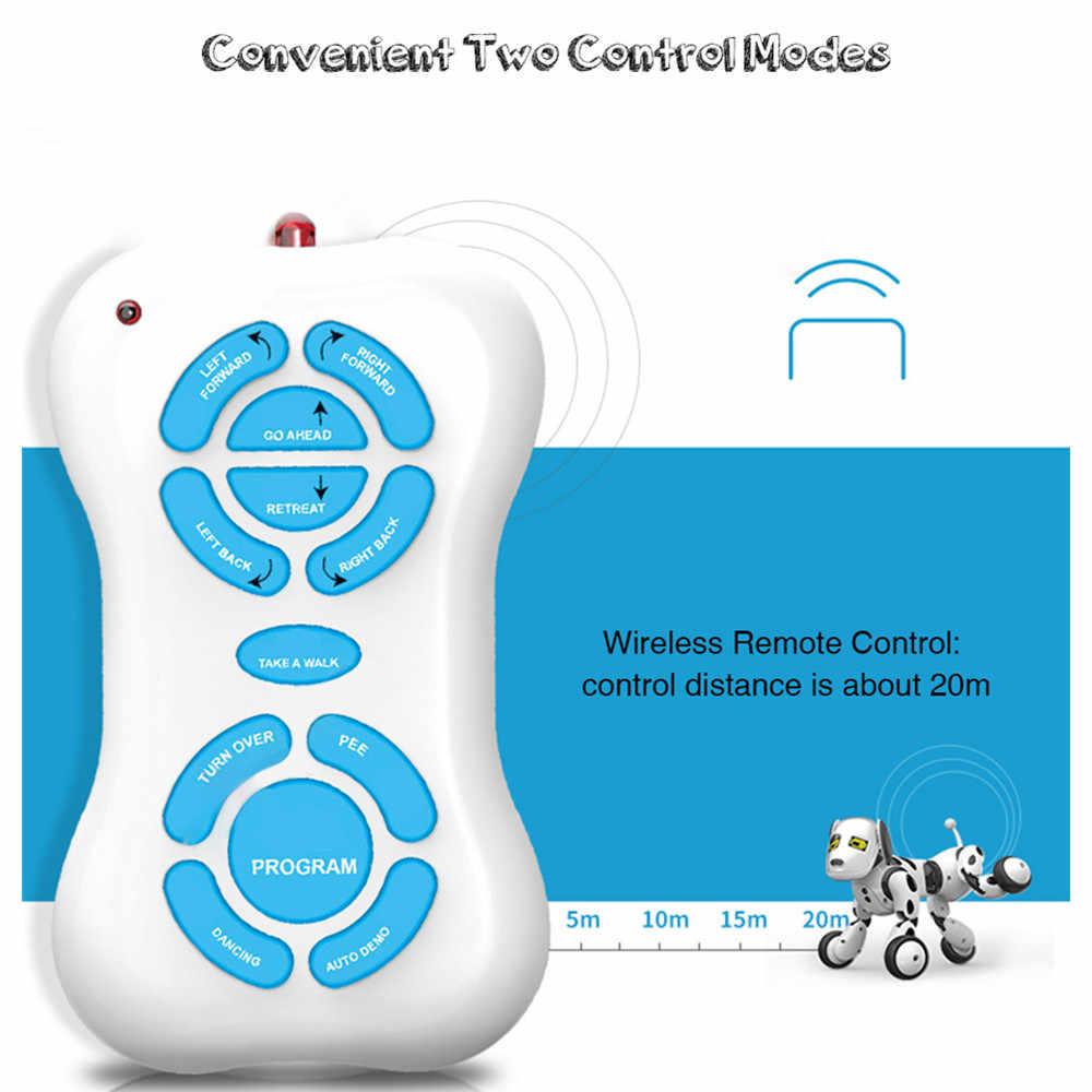 DIMEI 9007A Интеллектуальный RC робот игрушка для собак Смарт 2,4 г беспроводной пульт дистанционного управления говорящий робот игрушка для собак Электронные Домашние животные Детский подарок