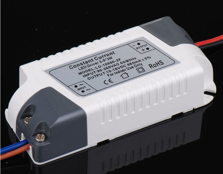 New promotions!!! 2pcs/lot 100% new 3*3w 4*3w 5*3w 3-5*3w LED ceiling light driver DC 10-18V Constant current 660MA