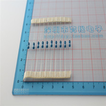 100PCS/LOT 1/4W 300R metal film resistor 300 ohm 1% 0.25W resistorS 1/4W color ring metal film resistance(China (Mainland))