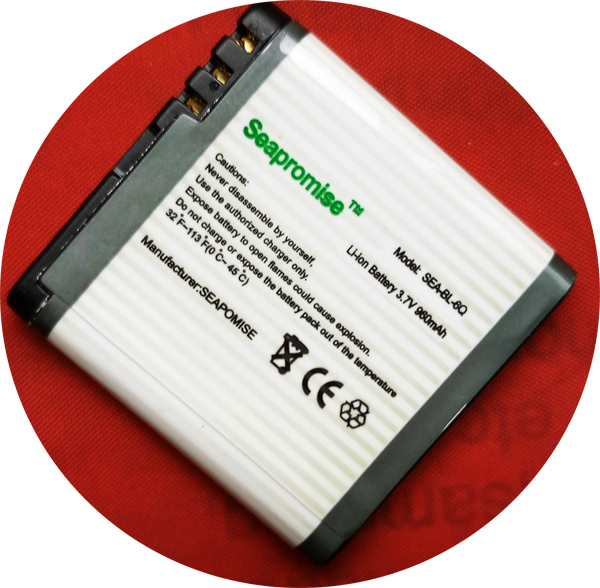 SEAPROMISE Free shipping Retail mobile phone battery BL-6Q BL6Q BL 6Q for Nokia 6700 classic