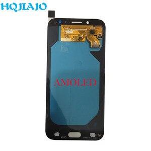 Image 3 - AMOLED LCD Display Für Samsung Galaxy J7 Pro 2017 J730 J730F J730FM LCD Display Touchscreen Digitizer Montage LCD J730