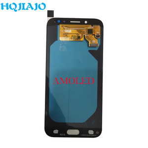 Image 3 - AMOLED LCD Display For Samsung Galaxy J7 Pro 2017 J730 J730F J730FM LCD Display Touch Screen Digitizer Assembly LCD J730