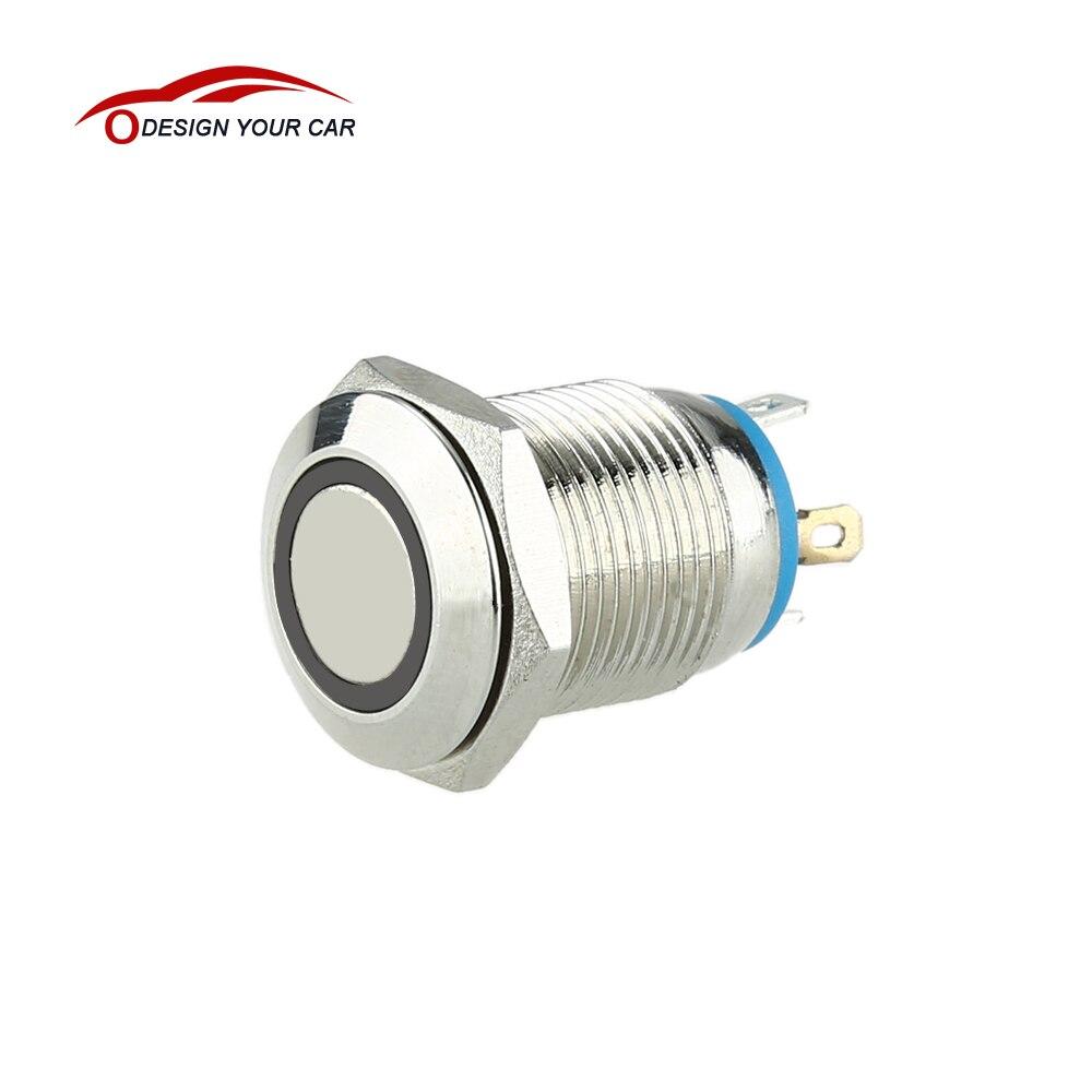 Mini 12mm 3 V Momentary On/Off Druckschalter für Auto Schaltung ...