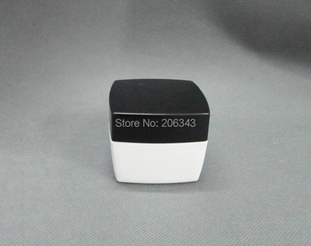 50g white  cream jar with black lid for cream or facial mask cream or cream jar,Cosmetic Jar,Cosmetic Packaging