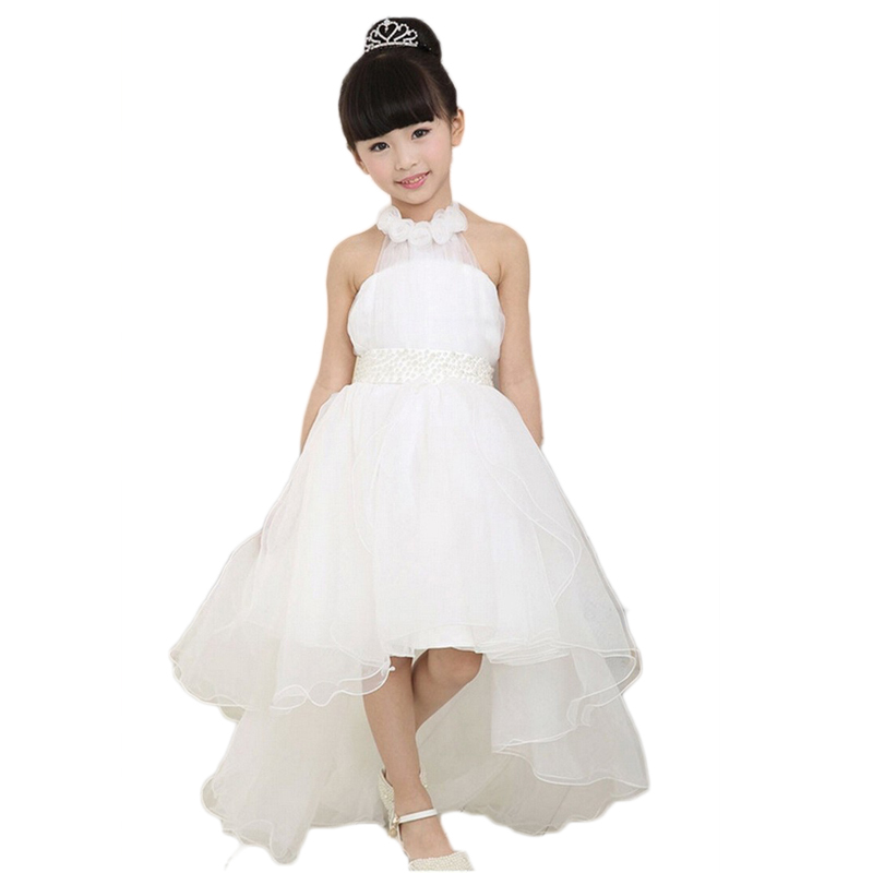 Children's clothing girls dress summer girls princess white lace long tail wedding kids dresses for girls free shipping maternity clothing spring twinset lace fairy princess wedding one piece dress white embroidery dress full dress summer