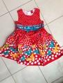 [Bosudhsou] Children Clothing Girls butterfly Dresses, Red/purple/blue/coffee colors Princess Dress 3-7 years one-piece dress 30