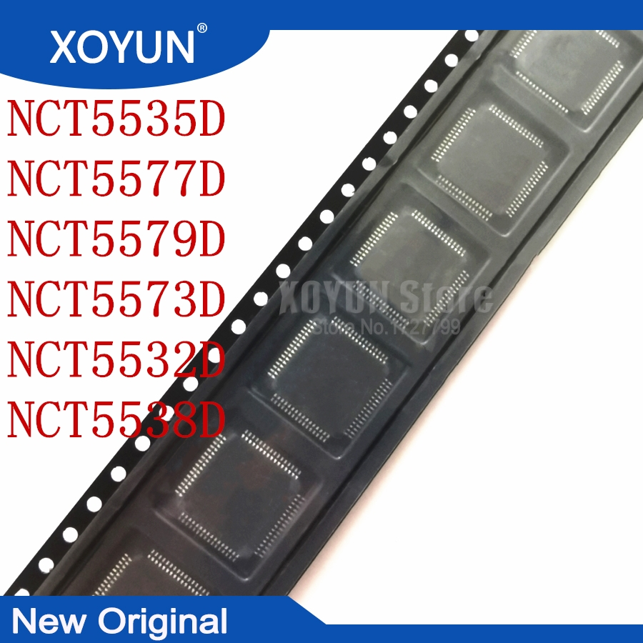 100%New NCT5535D NCT5577D NCT5579D NCT5573D NCT5532D NCT5538D QFP-64