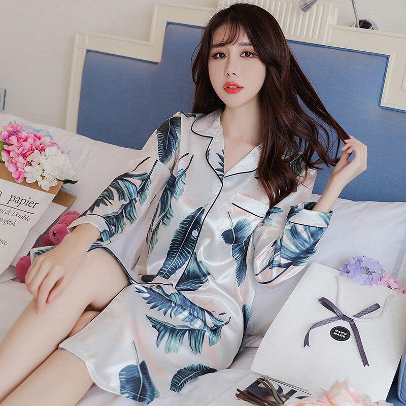 Women Nightgowns Silk Sleepshirts Female Nightwear Casual Nightdress Sleeveless Homewear Cute Nighties Sleepwear Summer