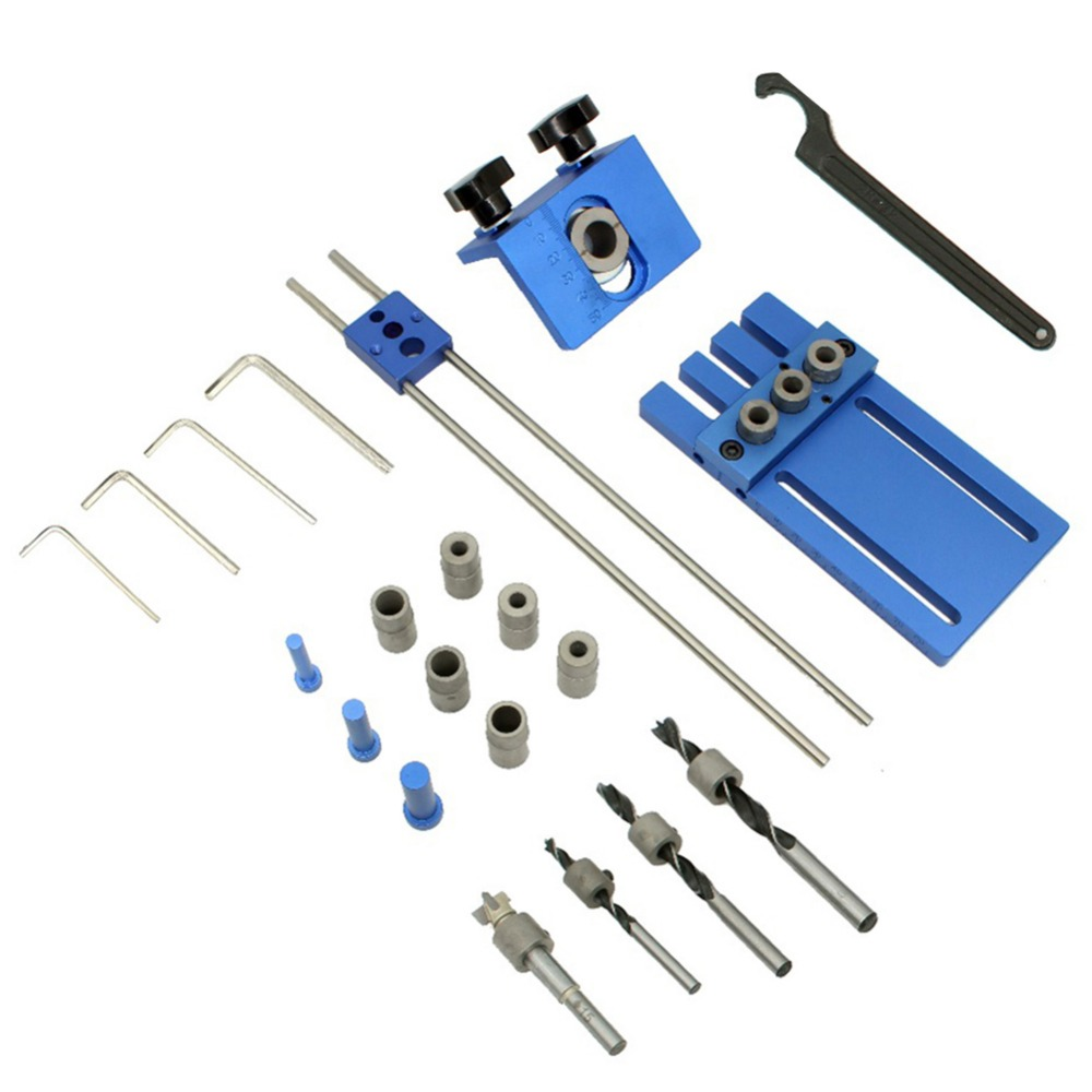 3 in 1 Drilling locator drilling guide kit DIY Woodworking Tool Joinery High Precision Dowel Jigs Kit3 in 1 Drilling locator drilling guide kit DIY Woodworking Tool Joinery High Precision Dowel Jigs Kit