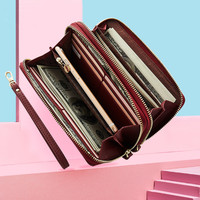 Large Capacity Ladies PU Leather Wallet Women Wallets And Purses Card Holder Female Purse Phone Coin