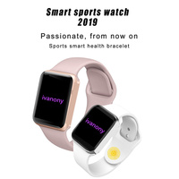 GPS Smartwatch+earphone set 44mm smart watch series 4 Bluetooth connected android ios iphone upgrade IWO 6 IWO8 Support whatsapp