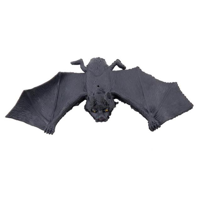 22g Simulated Spooky Big Black Bats Pendant Hanging Bats For Best Halloween Decoration