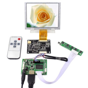 5 640x480 LCD Screen  5inch ZJ050NA-08C Replacement AT050TN22 work with HDMI Controller Board VS-TY2660H-V1 5 640x480 lcd screen 5inch zj050na 08c replacement at050tn22 work with hdmi controller board vs ty2660h v1