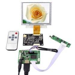 5 640x480 شاشة LCD 5 بوصة ZJ050NA-08C استبدال AT050TN22 العمل مع HDMI تحكم مجلس VS-TY2660H-V1