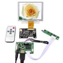 """5 """"640x480 lcd 화면 5 인치 ZJ050NA 08C 교체 at050tn22 hdmi 컨트롤러 보드 VS TY2660H V1 작동"""