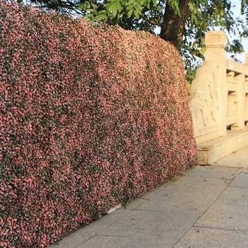 Piante Per Recinzioni Giardino.Outdoor Artificiale Piante Da Siepe Di Bosso Pannelli 10x10 Pollici