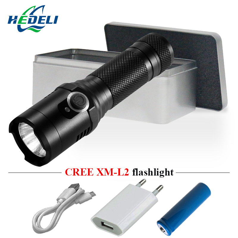 Led Lighting Orderly Camping Powerful Led Flashlight Cree Xm L2 Usb Torch Flashlight 18650 Waterproof Lantern Led Zaklamp Lampe Torche Strong Magnet By Scientific Process Led Flashlights
