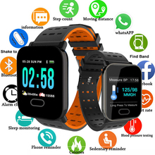 Men Smart Watch with Heart Rate Monitor Fitness Tracker Blood Pressure Smartwatch Waterproof For Android IOS PK Q8 V6 S9 colmi color screen ip68 waterproof smart watch with heart rate blood pressure sleep monitor for android ios pk q8 k5 smartwatch