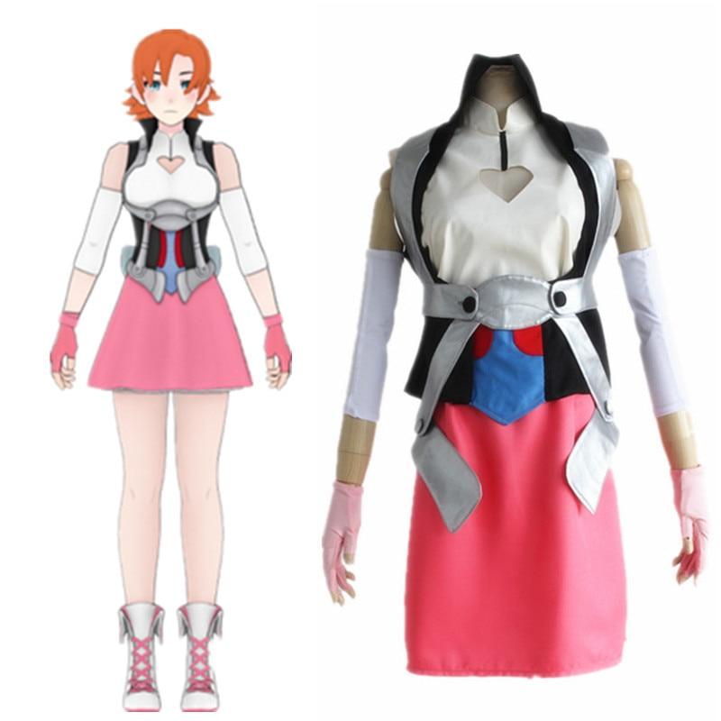 Нора Валькирия косплей костюмы Американское аниме RWBY одежда (одежда + аксессуары)