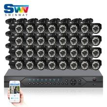 Buy Newest32CH AHD Surveillance System 1080N HDMI DVR 720P 1800TVL IR Outdoor Camera Kit Home Digital Video Recorder CCTV Camera Kit