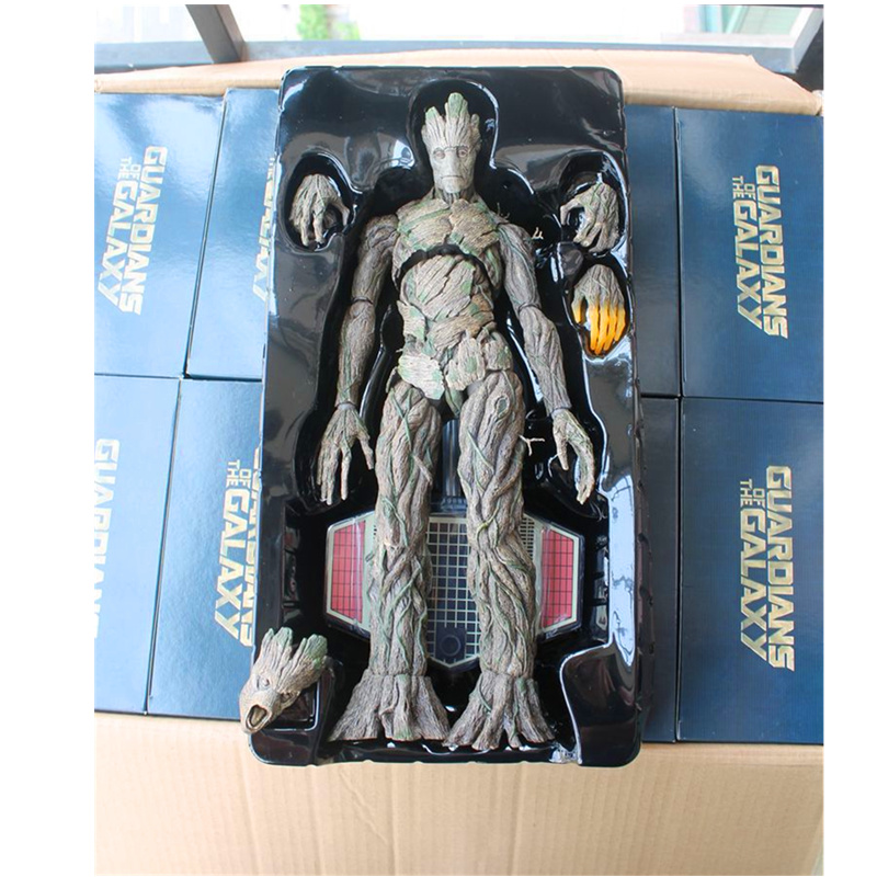 40CM Marvel Guardians of The Galaxy Tree Man Movable Joints Figurine Dolls Toys PVC Action Figure Collection Model Toy H50440CM Marvel Guardians of The Galaxy Tree Man Movable Joints Figurine Dolls Toys PVC Action Figure Collection Model Toy H504