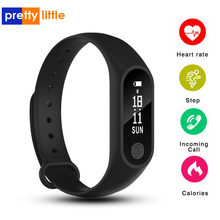 M2 Wristband Waterproof Wristband Heart Rate Monitor Fitness Tracker Bluetooth Smart Bracelet for Android iOS Phone Sport watch