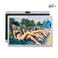 10,1 Android 7,0 WI FI 4 г mobile smart tablet 10 Core 128 ГБ Встроенная память dual SIM Двойная камера 8MP 1920x1200 Google Bluetooth gps tablet