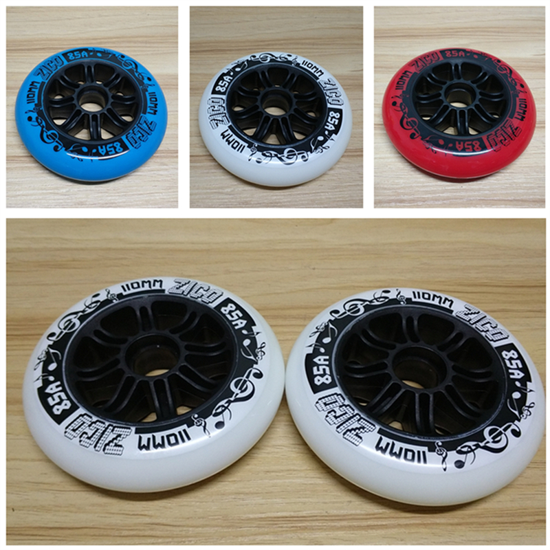 Advanced High Elastic Rebound 85A Speed Skates Wheel for Indoor Track Good Grip Inline Speed Skating