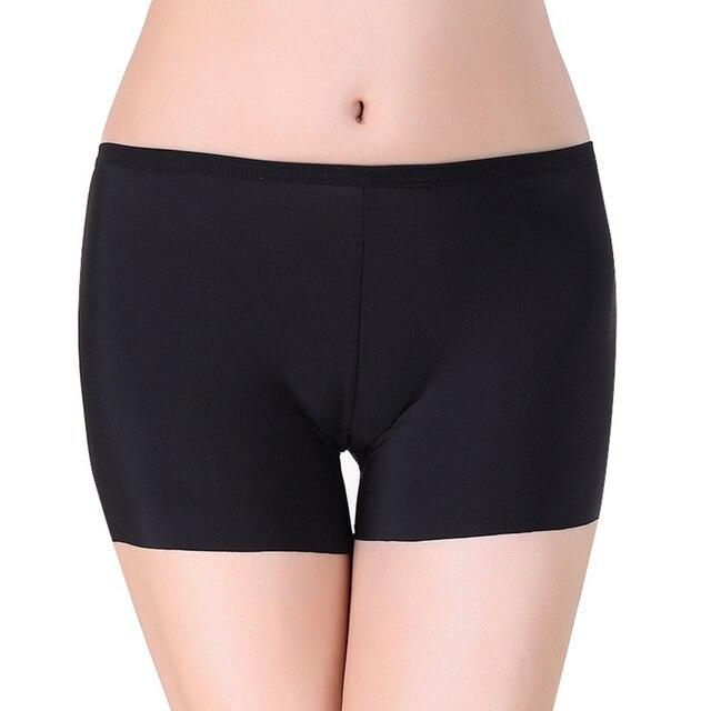 036b60b8a65b2 2018 Women Soft Cotton Safety Short Pants Summer Under Skirt Shorts Modal  Ice Silk Breathable Short