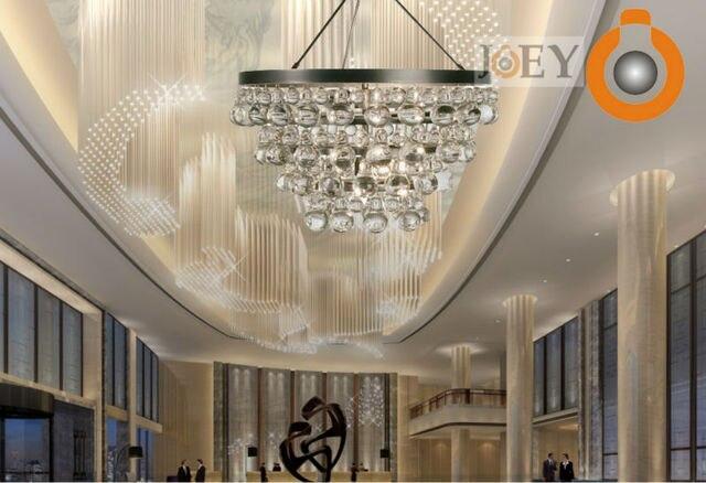 Moderne Kürbis Kristall kronleuchter lichter lampen Für esszimmer ...