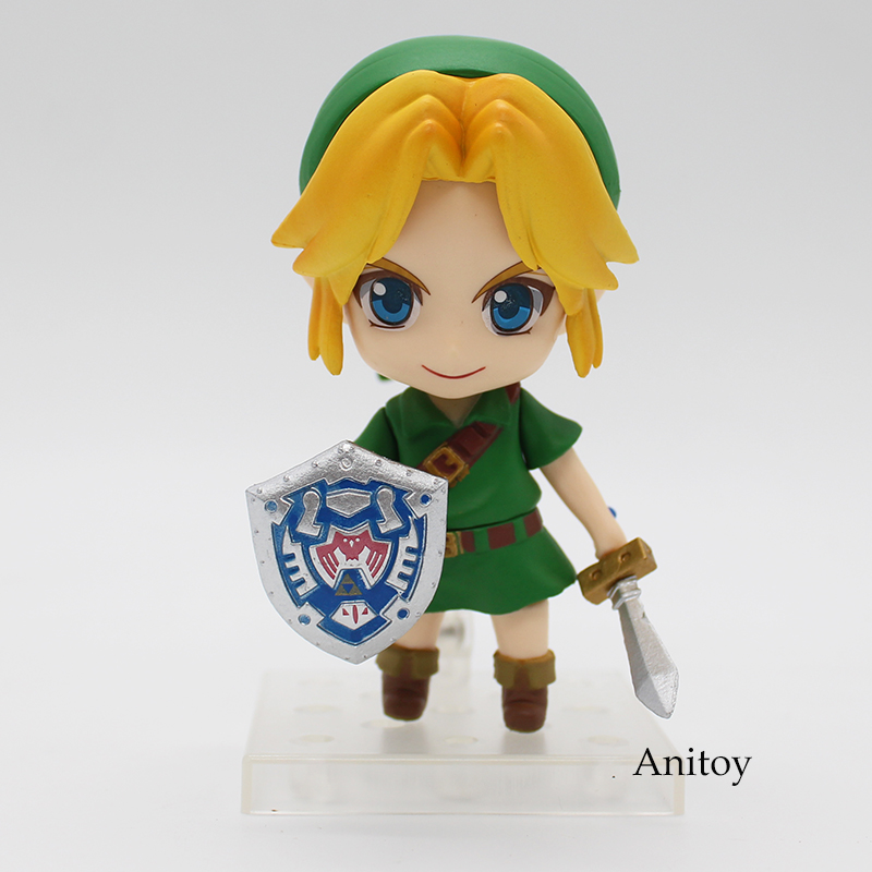 Cute Link Majora's Mask 3D Ver Nendoroid #553 PVC Action Figure Collectible Model Toy 4 1