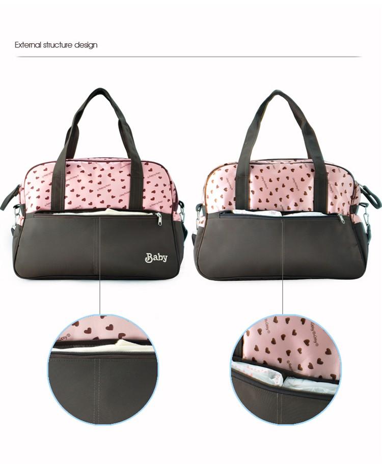 insular multifunctional diaper bags maternity mummy handbag baby care stroller bag High capacity mother Messenger nappy bags 10