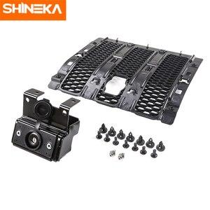 Image 5 - SHINEKA Kit de captura capucha de bloqueo inteligente, parrillas de carreras, conjunto de seguridad antirrobo, conjunto de bloqueo 2018 para Jeep Wrangler jl, accesorios