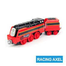 x5 Gift 1: 64 Vehicles Diecasts Thomas  with hook Racing Axel Thomas And Friends Magnetic Thomas Truck Engine Train Toys For Boy