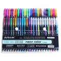 ZUIXUAN 48 Penne Gel di Colore set di penne gel Glitter Metallic penne di Buona regalo Per La Colorazione, I Bambini, Schizzi, pittura, Disegno, Disegno,