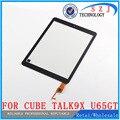 """Оригинал 9.7 """"7-дюймовый Сенсорный Экран для Cube U65GT Talk9X 32 ГБ Черный Обсуждение 9X Дигитайзер Стеклянная Панель Сенсорный Экран Замена Бесплатная доставка"""
