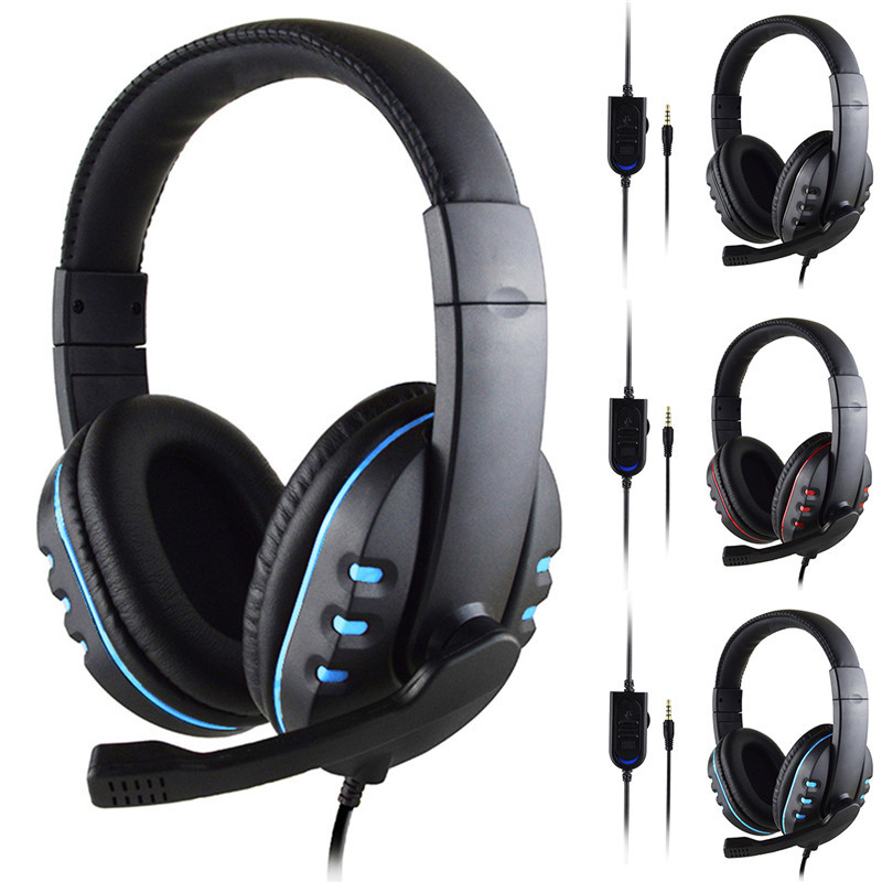 Gaming Headphones Professional PC Gamer Headset 3.5mm Wired Computer Virtual Surround Bass Ear With Mic Game Headset For Phone