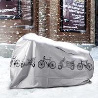 Горячая продажа Открытый Портативный водонепроницаемый скутер велосипед мотоцикл Дождевик Пылезащитный велосипед снаряжение велосипедн...