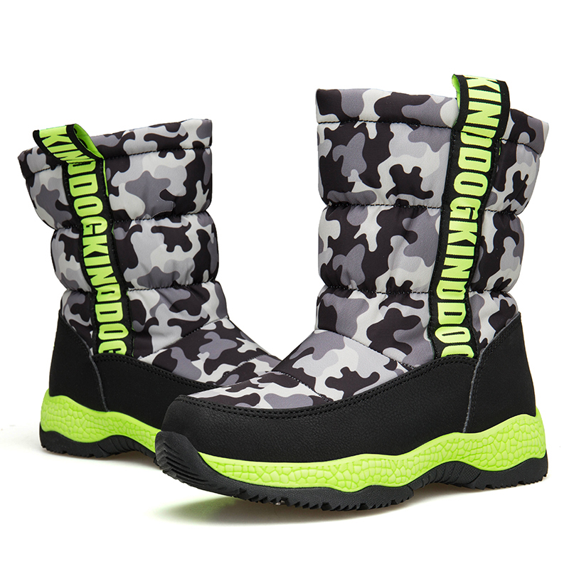 Detail Feedback Questions about SHUANGGUN Plush Felt Boots Winter ... e334ca6d9f36