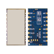 SV650   500mW 3km 433MHz wireless transceiver module with TTL RS485 RF data transmitter module