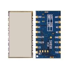 Sv650 500 ميجا واط 3 كيلومتر 433 ميجا هرتز وحدة مع ttl rs485 البيانات rf الارسال والاستقبال وحدة