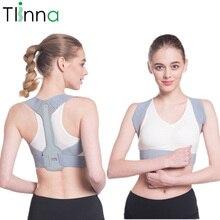 Corrector de postura jorobada ajustable, tirantes de cintura para clavícula y columna vertebral, cinturón de soporte de hombro trasero para hombres y mujeres, alivio del dolor