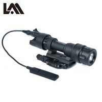 Tactical M952 IR Light Picatinny QD Mount LED Hunting Weapon Police Scout Light Gear Flashlight Constant Momentary White Output