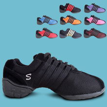 цены на 2017 Brand New Women Girls Dance Shoes Jazz Hip Hop Shoes Salsa Latin Dance Sneakers For Woman Shoes Plus Size 34~43  в интернет-магазинах