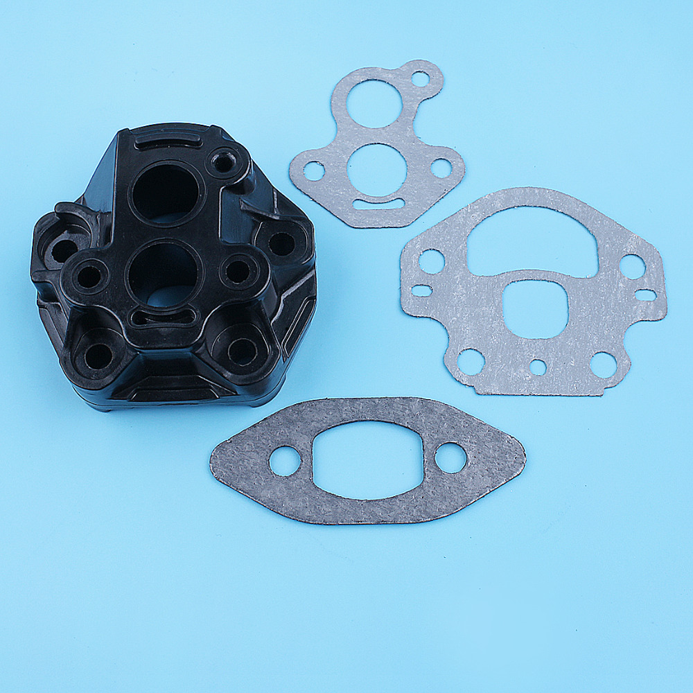 Carburetor Adaptor Intake Manifold Gasket Set For McCULLOCH CS340 CS380 CS 340 380 Chainsaw Replacement Spare Parts